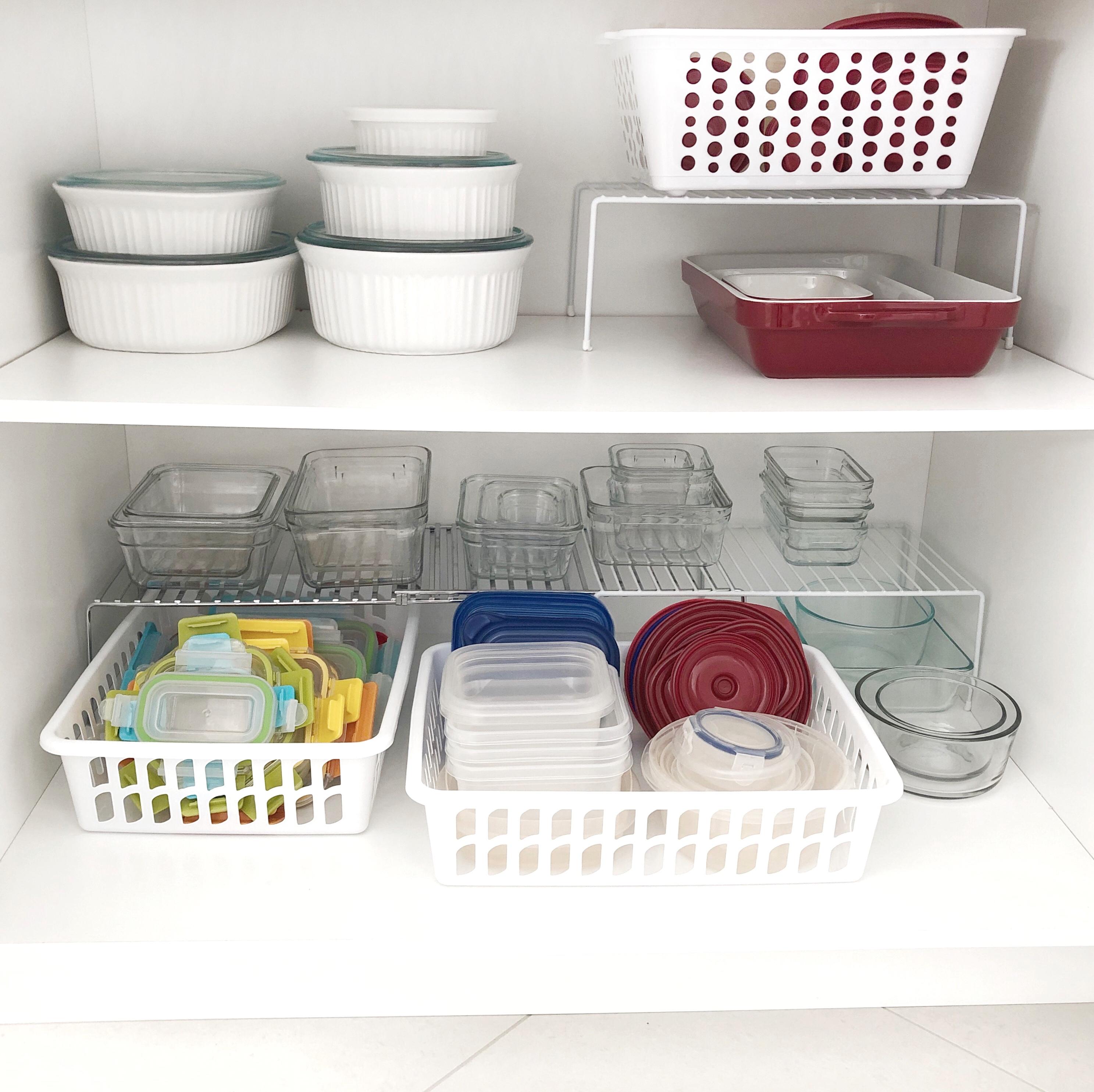 Tips For Organizing Your U201cTupperware Cabinetu201d + How I Organized Mine! U2013  Modern Organized Mama